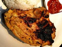 Ayam Bakar Padang  :: Resep Masakan Khas